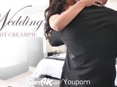CUM4K Wedding Night Multiple OOZING creampies Thumb