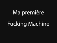 Ma premiere fucking machine avec Cathy Crown Belgium Porn star Thumb