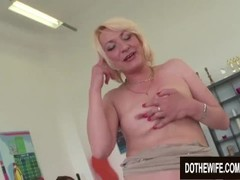 Horny Granny Adriana Love Bangs a Black Dude in Front of Her Young Husband Thumb