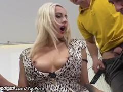 DogHouse Czech MILF Anally Creampied After Gangbang!! Thumb