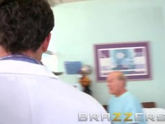 BRAZZERS -  Doctor's Adventure - Slutty nurse Madison Ivy shows how to take I dick Thumb
