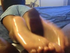 Pink Indian Toes Footjob - TRUE NORTH FEET - TNF Thumb