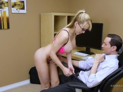Secret Office Slut Part 2 of 2 POV BJ HUGE Facial Cumshot Katie Banks Thumb