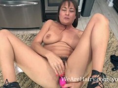 Elexis Monroe has fun masturbating in her kitchen Thumb
