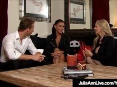 Milfs Julia Ann & Jessica Jaymes Tied Up & Fucked! Thumb