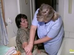 OldNannY Capturing Granny While Taking a Bath Thumb