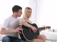 Teeny Lovers - Ria - Guitar lesson ends with a fuck Thumb