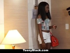 TeenyBlack - Ebony Babe Loves Sex And Money Thumb