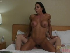 Female Bodybuilder Briana Beau Loves To Fuck Thumb