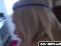 Reality Kings -  Blonde teen  Allexis makes homemade sextape Thumb