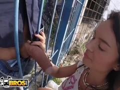 BANGBROS - Glorious PAWG Franceska Jaimes Public Anal Fuck! Thumb
