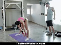 TeamSkeet - Dicking Down A Hottie In The Gym Thumb