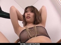 Rika Aiba amazing amateur nude sex video with a young man - More at Japanesemamas.com Thumb