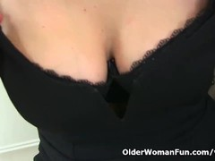 UK milf Annabella Ford will be your naughty secretary Thumb