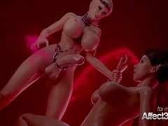 Hot 3d babes having futa sex Thumb