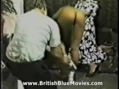 British Spanking from the 1980s with Solange Hop Thumb
