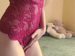 Young girl - Teen - Masturbation Pussy - Virgin Thumb