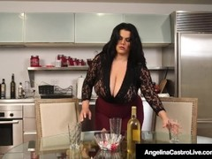 Latina BBW Angelina Castro Does 3Some With Roberta Gemma! Thumb