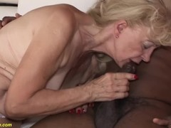 71 years old grannies first bbc interracial Thumb