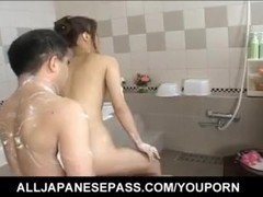 Awesome bathroom sex with the stunning Japanese hottie Saori - More at hotajp.com Thumb
