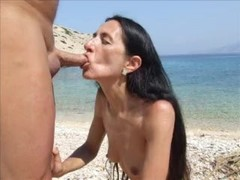 Blue Beach Blow Job in Croatia Pag Island by ahcpl Thumb