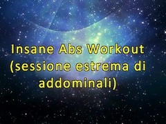 Insane Abs Workout (Stomach Demolition - Fetish Obsession) Thumb