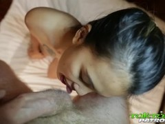 Tuk Tuk Patrol - Big white cock creampies Thai babe Thumb