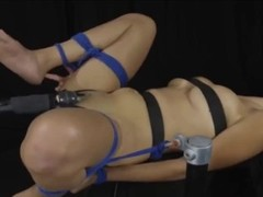 Marihana multiple cum with vibrator and bondage Thumb