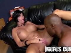 MOFOS - Hot milf Shay Fox likes rap and Big black cock Thumb
