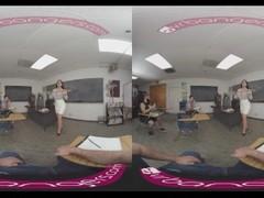 VRBangers Sexy Teacher Romi Rain Getting Rammed By A Sexy Stud VR Porn Thumb
