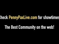 Beautiful Red Head Penny Pax Tongue Fucks Riley Reid! Thumb