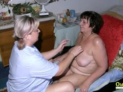 OldNannY Lesbian Mature Enjoys Horny Attention Thumb