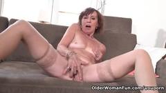 64-year-old Euro granny Danina is a passionate masturbator Thumb
