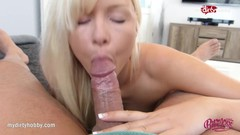 MyDirtyHobby - Bibixxx's petite little ass got hungry for some anal filling Thumb