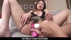 Ran Minami screams when riding the cock hard - More at Japanesemamas.com Thumb