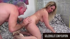 Golden Slut - Pounding Mature Hotties in Doggystyle Compilation Part 14 Thumb