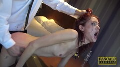 PASCALSSUBSLUTS - Redhead Andi Rye Auditions To Serve Master Thumb