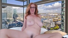 Frisky redhead wife material Allison gets wild and kinky Thumb
