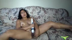 athletic asian bbc lover enjoing vibrator Thumb